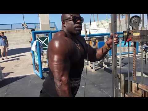 Arm Workout w/ Kali Muscle | Muscle Beach