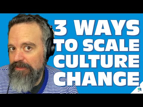 Tanzu Talk  3 ways to scale culture change