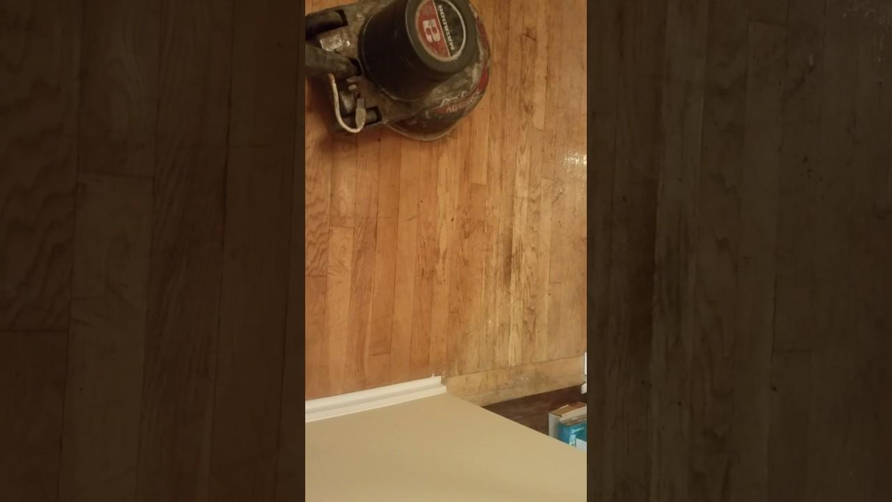 Deep Cleaning A Hardwood Floor Youtube