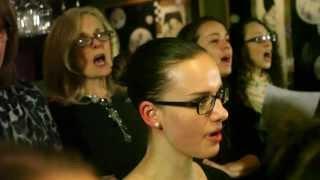 Choir! Choir! Choir! sings Haim - If I Could Change Your Mind