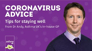 Coronavirus advice: tips for staying well