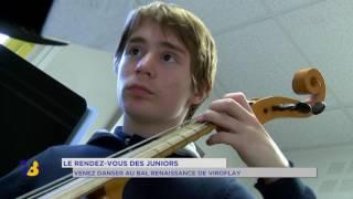 Chronique juniors : le grand bal de la Renaissance