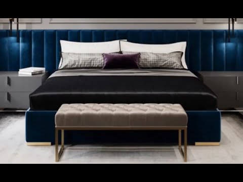 Trending luxurious bedrooms designs and colours 2020 تشكيلة من احدث تصاميم والألوان لغرف النوم