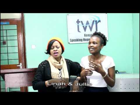 Jesus Saves- Acapella -Linah & Jullie @ Trans World Radio Kenya