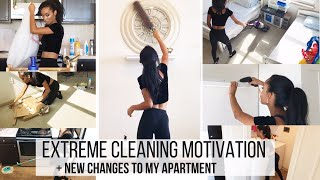 how I clean my entire apartment FAST // Jill Cimorelli - Four Youtube