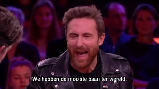 Hardwell stopt, heeft David Guetta ook over stoppen nagedacht? - RTL LATE NIGHT MET TWAN HUYS