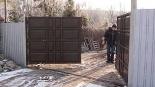 Автоматические распашные ворота ЗАКАЗАТЬ НЕДОРОГО(, 2014-05-15T16:39:48.000Z)