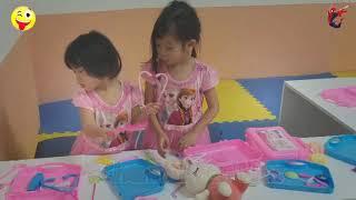 Kids Baby Go to Funny Land Discovery Shopping Mall - Bé Đi Siêu Thị, Công Viên Vui Chơi