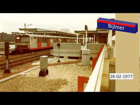 🚇Docu Metro Amsterdam ♫🎧😊HD - History Underground