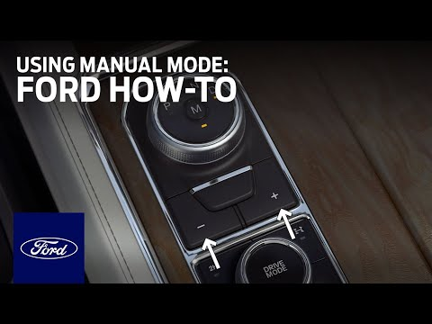 Rotary Gear Shift Dial: Using Manual Mode | Ford How-To | Ford