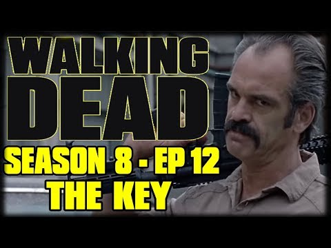 "The Walking Dead Season 8 Episode 12 ""The Key"" Recap and Review - NEGAN vs RICK"