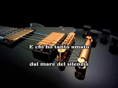 Karaoke ANDREA BOCELLI - La voce del silenzio originale