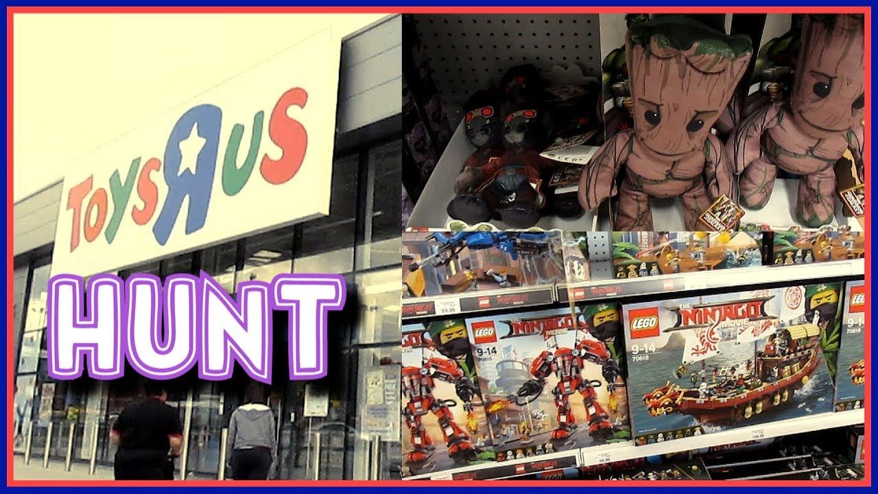 Toys R Us Hunting Summer 2017 Clearence New Lego