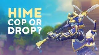 NEW HIME SAMURAI SKIN | COP OR DROP? Ep. 1 (Fortnite Battle Royale)
