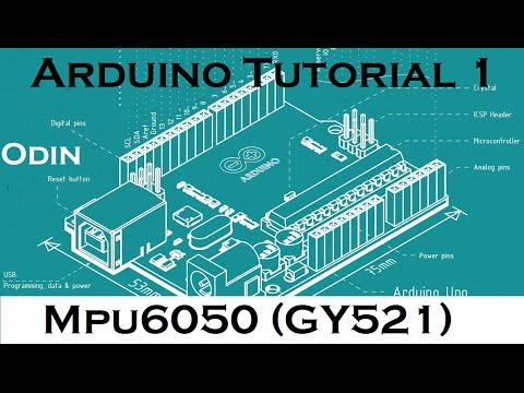 Arduino DIY: MPU 6050 Tutorial - Arduino Uno [Gyro&Accelero](3D Teapot Demo)