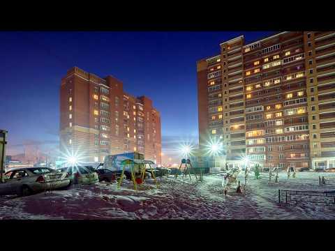 "Микрорайон ""Весенний"" зимой, г. Новосибирск"