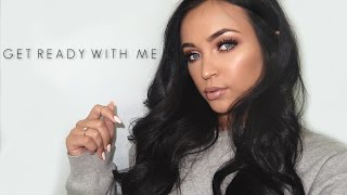 CHATTY GET READY WITH ME: CASUAL GLOWY GLAM