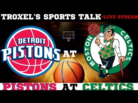 NBA Detroit Pistons VS Boston Celtics Game Audio/Scoreboard Only