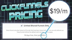 Clickfunnels Pricing Review: I unlocked a clickfunnels discount for $19 per Month... (here's how)