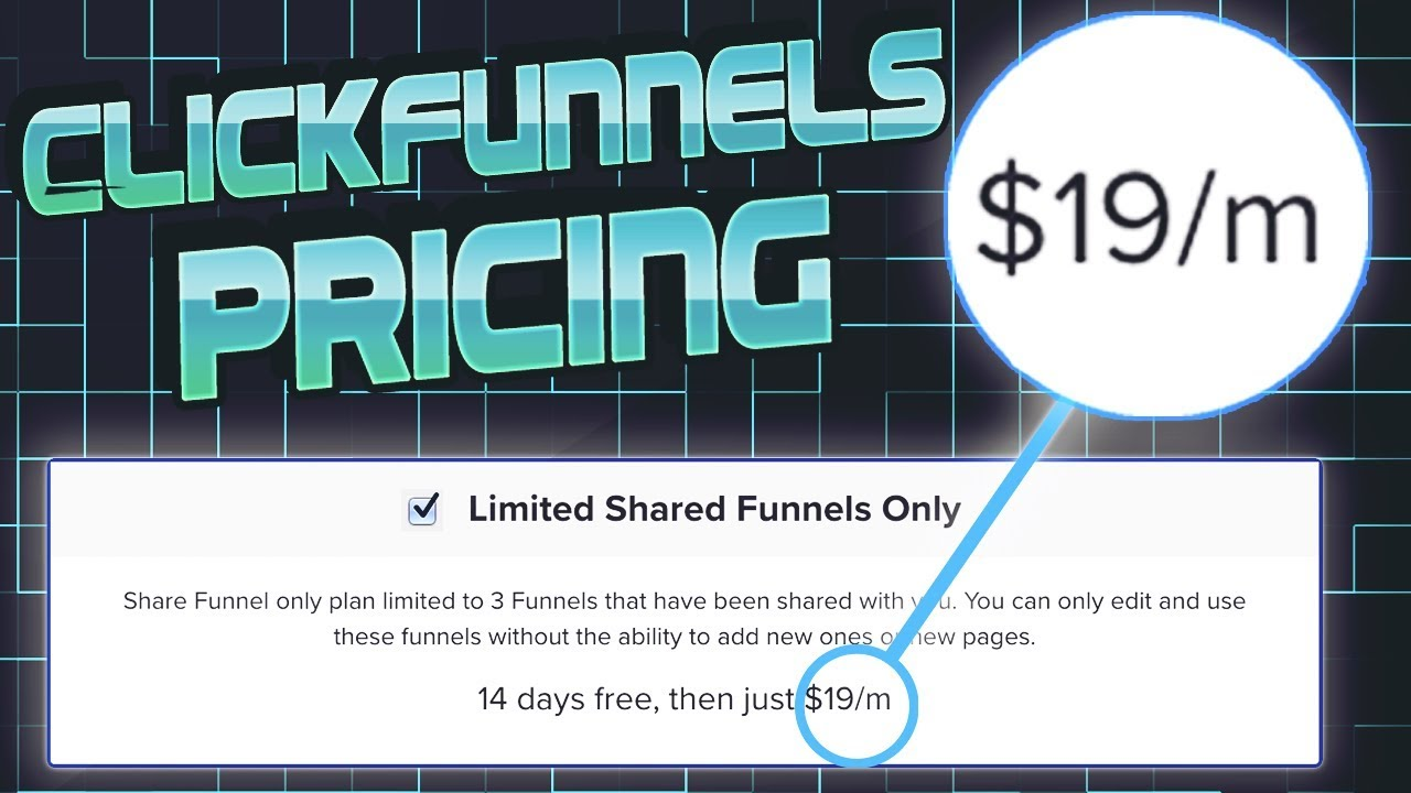 Clickfunnels Pricing: I unlocked a clickfunnels discount for $19 per Month... (here's how)