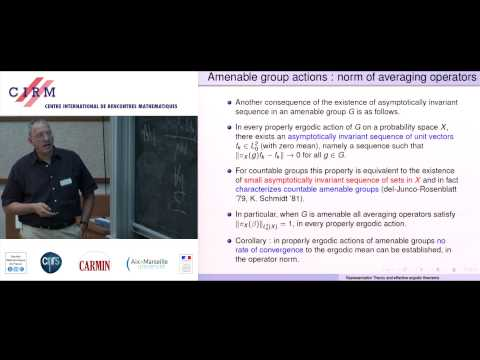 Amos Nevo: Representation theory, effective ergodic theorems, and applications - Lecture 1