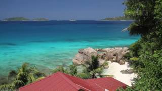 Relaxing 3 Hour Audio Of A Tropical Beach Palms Blue Sky And Turquoise Water