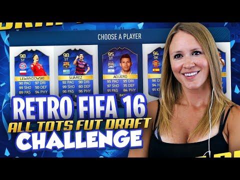 IMPOSSIBLE RETRO FIFA FULL TOTS FUT DRAFT CHALLENGE! FIFA 18