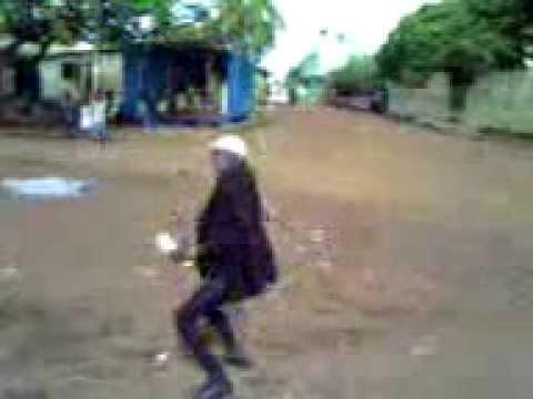 Danseur Afriquain