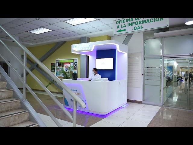 Seguros Reservas deja instalada Estacion de Servicios en Ministerio de Medio Ambiente