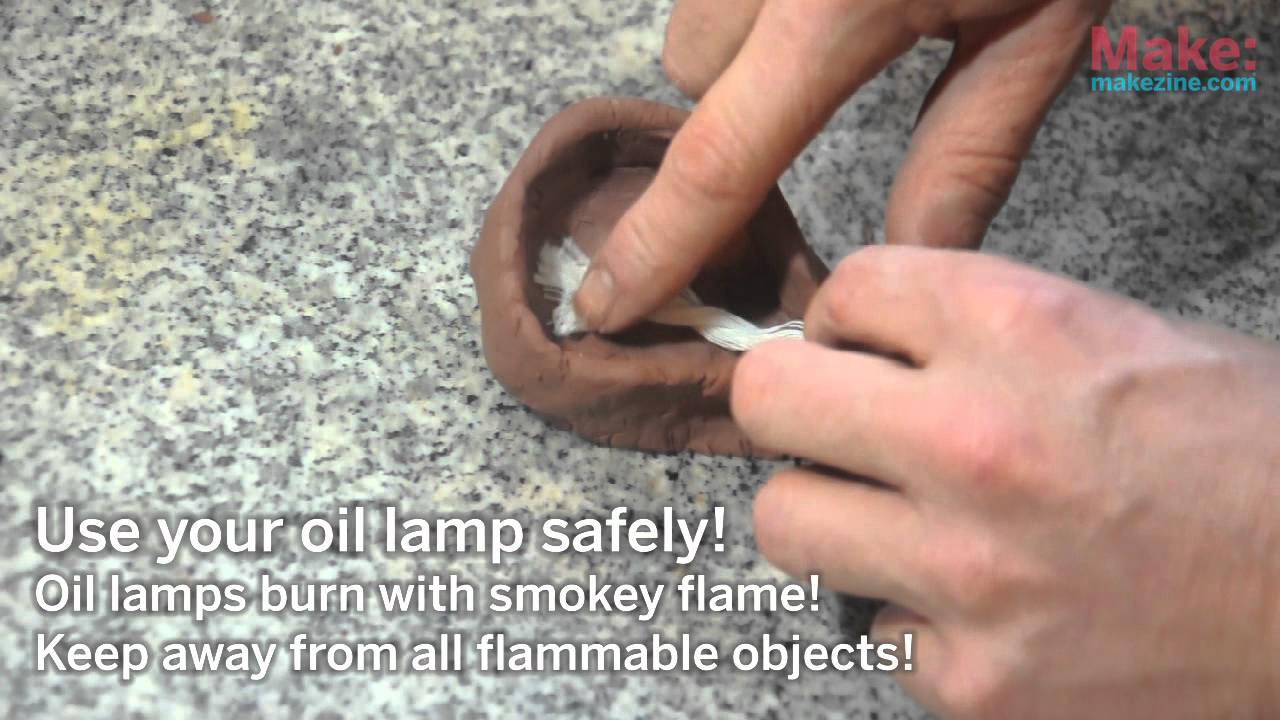 ReMaking History- Oil Lamp - YouTube
