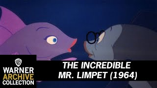 The Incredible Mr. Limpet (1964) – Rescuing Ladyfish