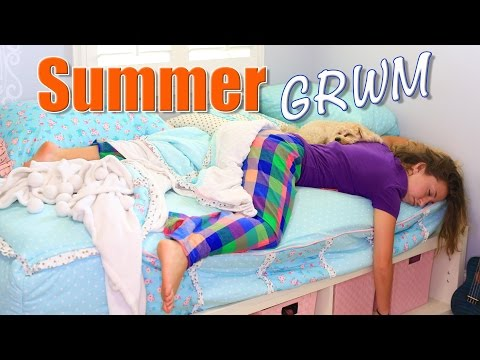 Bailey's Summer Morning Routine | Brooklyn and Bailey