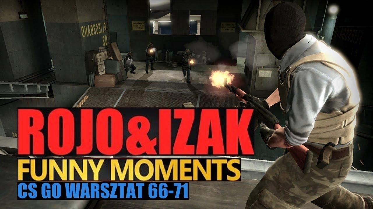 Funny Moments IZAK & ROJO w CS:GO – WARSZTAT #18