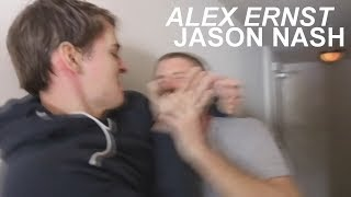 Alex Ernst and Jason Nash - funny moments/fights