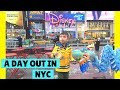Disney Store On Time Square New York City