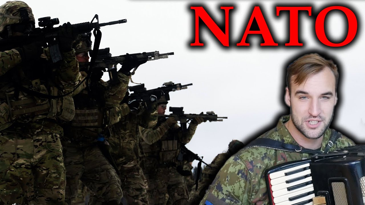 Estonian Soldier reacts to NATO