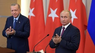 'Best military & diplomatic solution': Putin, Erdogan talks end with deal averting Idlib crisis