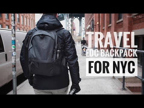 Travel EDC Backpack for NYC I What's In My Backpack?
