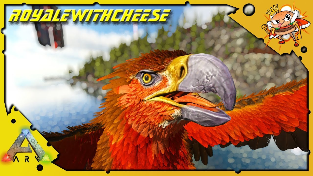We Tame An Easter Color Griffin? Max Level Griffin Tame! - Ark: Survival  Evolved [Cluster E30]
