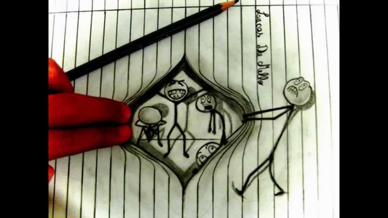 Dibujos A Lapiz 3d Youtube