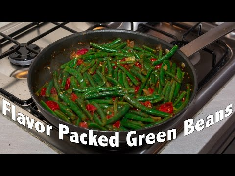 Best Quick Easy Green Bean Recipe - Tasty Veggie Recipe # 2
