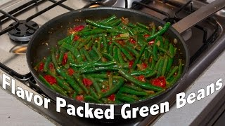 Best Quick Easy Green Bean Recipe - Tasty Veggie Recipe # 2