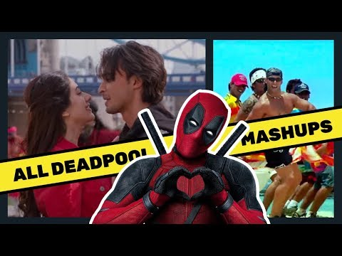 All Deadpool Mashups | Chogada Tara | Jeene ke hain chaar din