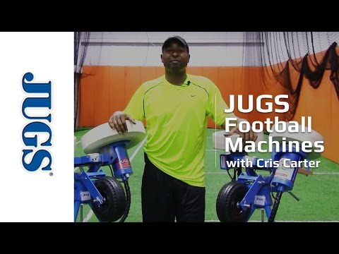 Cris Carter and the JUGS Football Machines | JUGS Sports