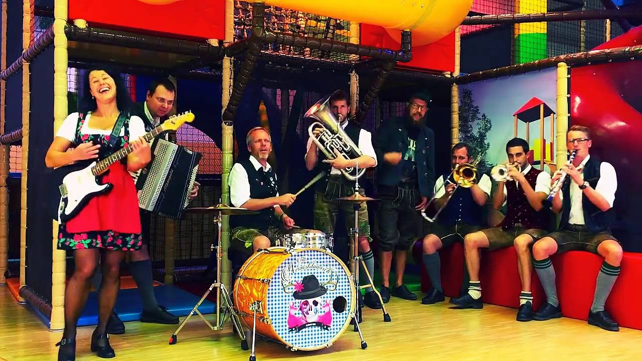 Watch this Bavarian band's unique cover of AC/DC's Highway