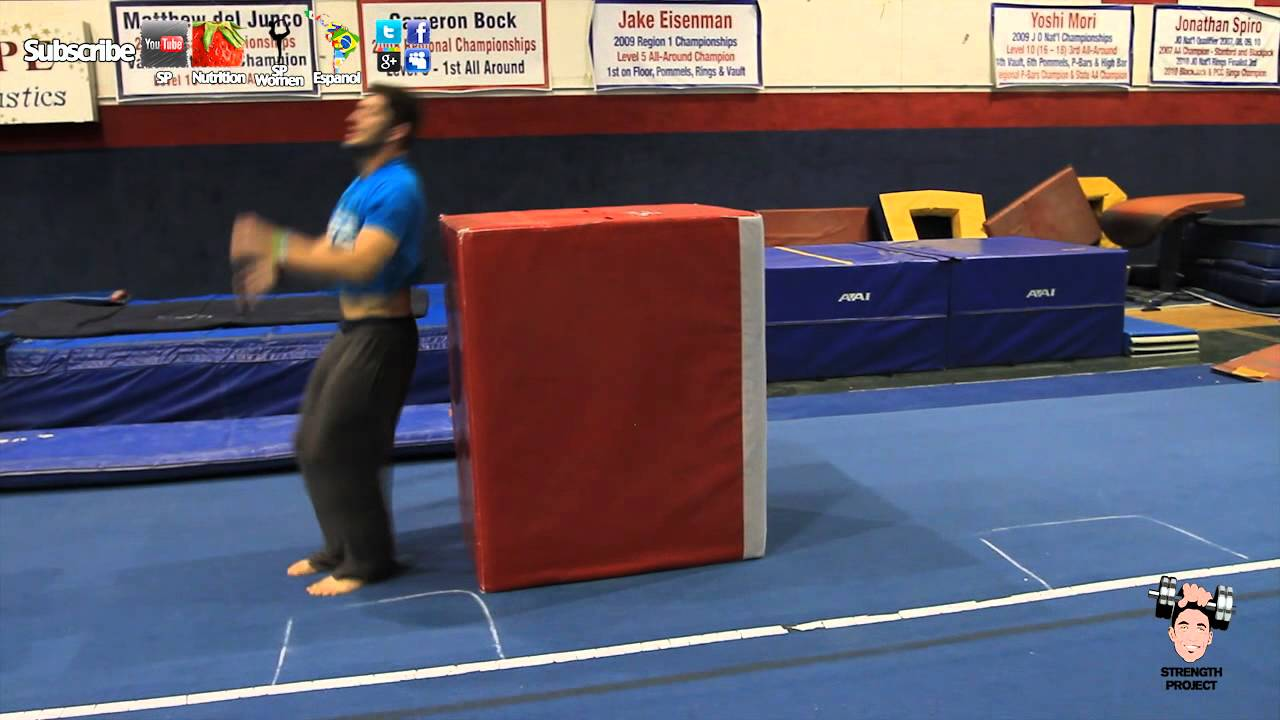How to learn to do flips at home: safety and technology 7