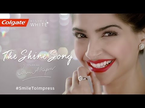 Colgate Visible White- The Shine Song starring Sonam Kapoor - English
