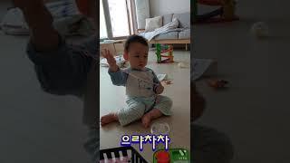 목걸이 쌍절곤 아기 장난감 놀이