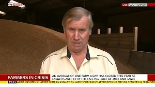 Farmer Explains Milk Protests