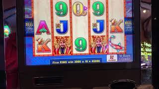 NICE WIN @ CHOY SUN DOA WITH $0.75 BET